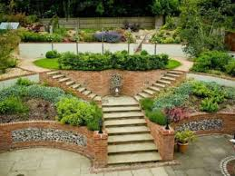 Small Sloped Garden Design Ideas Garden Design For Slopes Garden Design Slope Interior Design