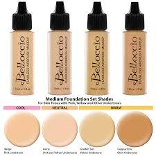 Golden Color Shades Airbrush Makeup 17 Color Set 16 Color Foundation Set Primer