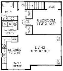 How Big Is 550 Square Feet 500 Sq Ft Studio Apartment One Bedroom 550 Sq Ft Two Bedroom 750