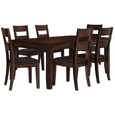 Rectangular Dining Room Table by Mango2 Dark Tone Rect Dining Room