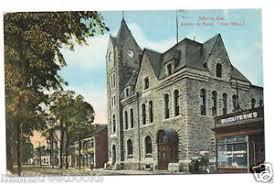 bureau de poste pr騅ost joliette post office canada bureau de poste vintage postcard
