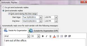 absence bureau outlook activate out of office assistant outlook 2010 and 2013