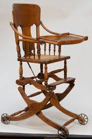 Baby Furniture Chair 35 Best Antique High Chairs Images On Pinterest Antique High