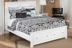bedroom elegant queen storage bed bostwick collection in