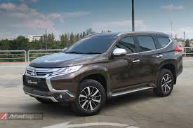 2017 mitsubishi pajero sport review mitsubishi pajero new model 2017 new car review and release date