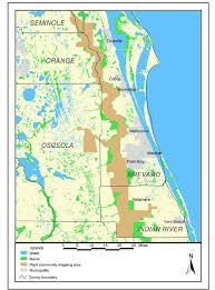 Flood Plain Map The St Johns River Floodplain And The Upper St Johns River
