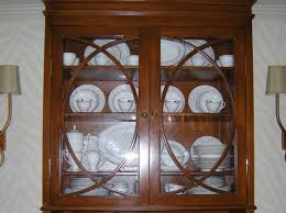 cabinet glass china cabinet leeway curved glass replacement