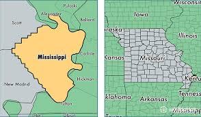missouri map mississippi county missouri map of mississippi county mo