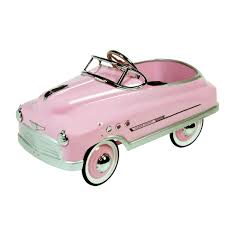 pink toddler car pedal car ride on toys kits tricycles foot powered u0026 battery