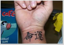 31 chinese wrist tattoos design