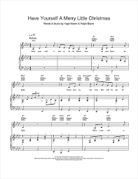 merry christmas piano sheet music frank