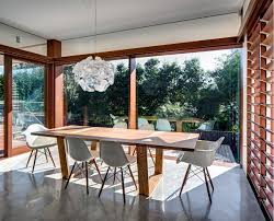 modern lighting over dining table dining table lighting contemporary home in sydney australia