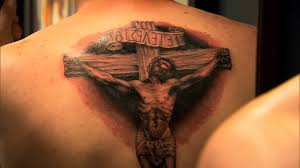 elimination tattoo black and grey religious part iv ink master