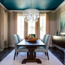 Photos HGTV - Teal dining room