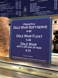 review alcoholic dole whip comes to the disneyland resort wdw