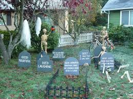 how to make a halloween graveyard hubpages
