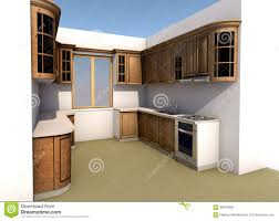 Kitchen Design Autocad Kitchen Design Stock Illustration Image 66910658