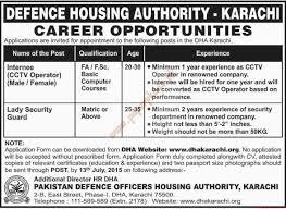 Cctv Experience Resume Defence Housing Authority Karachi Jobs Dawn Jobs Ads 05 July