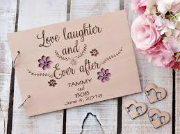 sign in book for wedding aliexpress buy wooden wedding sign book rustic wedding guest