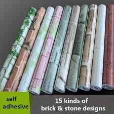 aliexpress com buy 0 45 10m pvc self adhesive wallpaper roll do