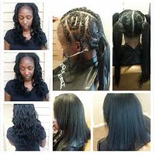 vixen sew in on short hair di di payne artistry weave extensions arlington tx