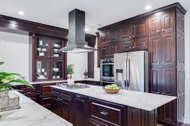 kitchen cabinets contrast colors design insights