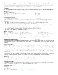sample of electrician resume resume entry level electrical engineer frizzigame sample resume entry level electrical engineer frizzigame