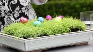 easter dinner table modern floral with eggs grass flowers youtube