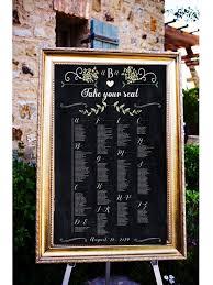 wedding table assignment board chalkboard wedding table assignments board table listings by