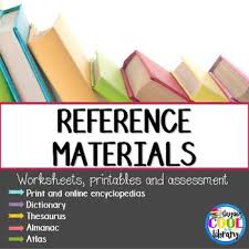 reference materials printables and worksheets by staying cool in