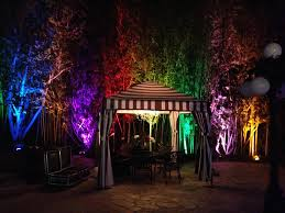 Outdoor Led Up Lighting Event Production And Equipment Rental Services For Los Angeles Area