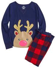 reindeer pajama set original price 9 99 available at justice