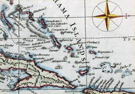 Map Of West Indies Antique Maps Of Central America