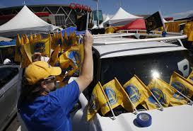 car junkyard antioch ca warriors giving away free car flags on thursday sfgate