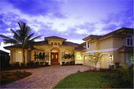 florida style mediterranean home with 3 bdrms 4000 sq ft