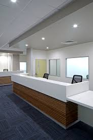 Reception Desk Sydney by Health Organisation Aspect Commercial Interiors