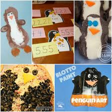 mom to 2 posh lil divas penguin crafts recipes and learning the