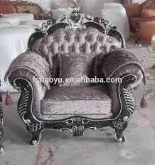 velvet sofa set blue fabric velvet sofa classic furniture design salon sofa