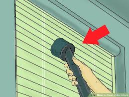 How To Wash Blinds In The Washing Machine How To Clean Roller Blinds 7 Steps With Pictures Wikihow