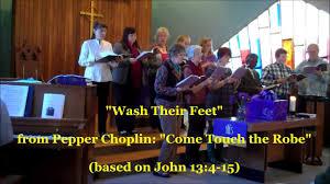 choir anthem wash their from pepper choplin s cantata
