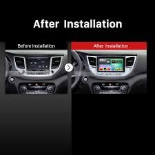 hyundai tucson navigation how to upgrade a 2015 2016 hyundai ix35 tucson stereo with an