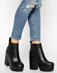 womens chelsea boots target easy target chelsea ankle boots at asos com