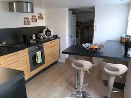 cuisine noir bois cuisine noir mat et bois unique cuisine bois et noir best 25 deco