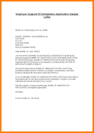 Letter Of Intent For Financial Assistance by Immigration Letter Of Support Thebridgesummit Co