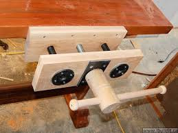 wood vise plans homemade wood vise pdf plans