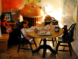 Dollhouse Dining Room Furniture by My Doll House Kitchen And Dining Room U2013 Dr Lill