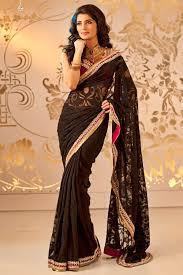 indian bridal wear saree collection 2017