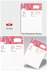 printable recipe cards template cooking gifts foodie gift for her a4 recipe card printable recipe
