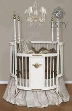 round cribs cradles baby bedding