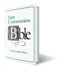 1st communion gifts boys communion gift bible st joseph edition nabre